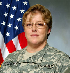 Command Sgt. Major Marilyn Gabbard