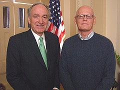 Tom Harkin and Craig Brownlee