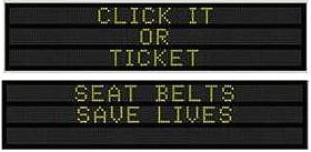 DOT seatbelt sign 07