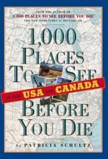 "Book cover ""1,000 Places in the USA and Canada to See Before You Die"""