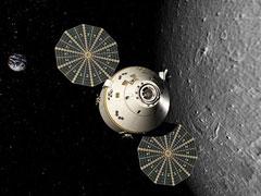 future Orion spacecraft
