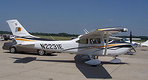 Iowa State Patrol airplane