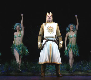 Michael Siberry in Spamalot