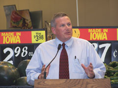 Iowa Ag Secretary Bill Northey