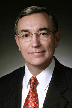 ISU President Gregory Geoffroy
