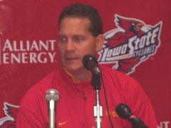 ISU football coach Gene Chizik