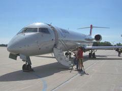 New Mesaba CRJ900 passenger jet