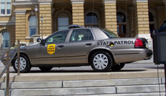 State Patrol car (file photo)