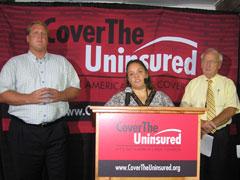 Governor Culver,  Mrci Ruff, Kevin Concannon