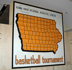 State Tournament sign