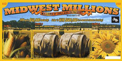 Midwest Millions lottery ticket