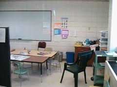 An Iowa school classroom