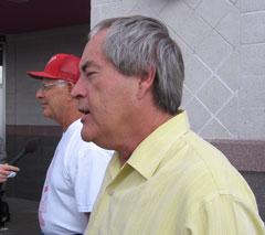 Jim Van Scoyoc and Powers Boothe
