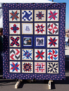 War Paint freedom quilt