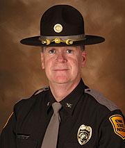 Iowa State Patrol Colonel Patrick Hoye