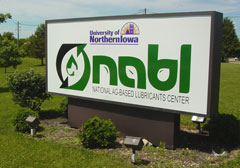Sign for UNI NABL Center