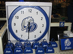 Drake clock and other souvenirs