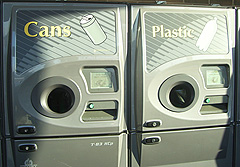 Can and bottle deposit return machines