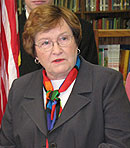 Lieutenant Governor Patti Judge