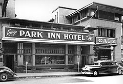 Park Inn Hotel in the 1940's