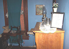 Bedroom where two of eight people were killed in Villisca