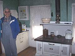 Darwin Linn owner of the infamous Villisca house