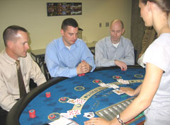 DCI agents train on what to look for at casino gaming tables.