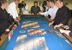 DCI agents learn how to identify cheaters at a casino
