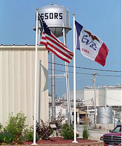 Photo of Agriprocessors plant in Postville from the company's website.