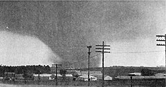 It's the 40th anniversary of the tornado that struck Charles City.