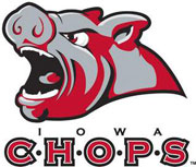 New Iowa Chops AHL hockey team logo.