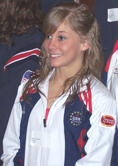 Shawn Johnson (file photo)