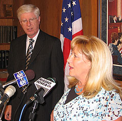 Iowa Attorney General Tom Miller, and Elaine Deal of Des Moines.