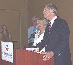 Christie and Tom Vilsack