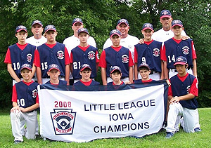 Urbandale Little League state champions