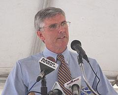 Bruce Heine of Magellan Pipeline Company.