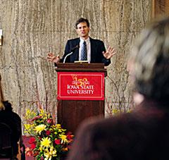 I.S.U professor Brent Shanks.