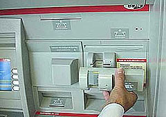 Device used to steal ATM information.