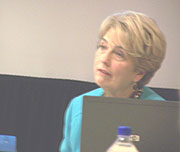 Department of Education Director Judy Jeffrey