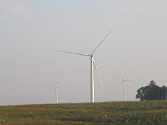 Wind turbines in Northern Iowa.
