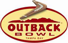 Outback Bowl logo.