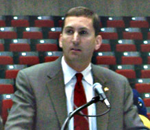 ISU Athletic Director Jamie Pollard (file photo)