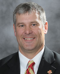 New ISU football coach Paul Rhoads.