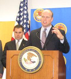 U.S. Attorney Matt Whittaker