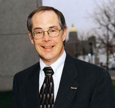 Banking Superintendent Tom Gronstal