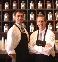 Gong Fu owners Mike Feller & Rusty Bishop (l-r)