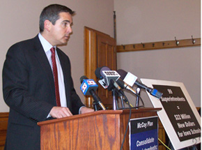 State Senator Matt McCoy, D-Des Moines.