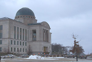 State Supreme Court building.