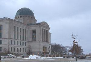 State Supreme Court building.