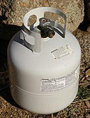 propance tank